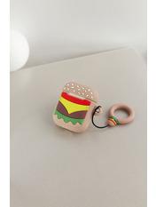 Чехол для наушников Apple Бургер one size Желтый Капучиновый
