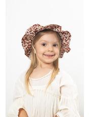Шляпа детская Мэри Бордовый 49