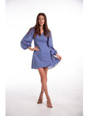 Платье PLA-D0125 XS Голубой