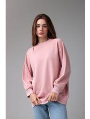 Свитшот KOF-5422 Пудровый S Розовый