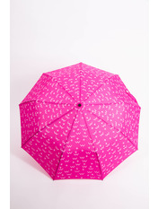 Женский зонт PK-7766 Розовый Ярко-розовый