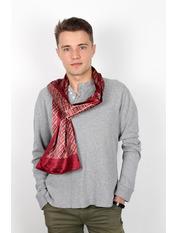Чоловічий шарф Полукс 166*27 Бордовий Бордовий