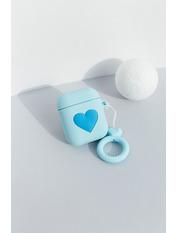 Чехол для наушников Apple Лав one size Голубой Голубой