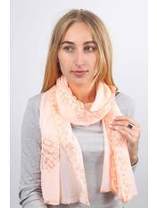 Шарф Жасмин 160*45 Розовый Нежно-розовый