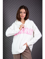 Худи KOF-SH0221 XS/S Розовый Молочный-розовый Hawai