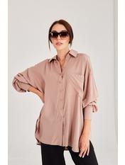 Рубашка RA-5998 Коричневый one size Шоколадный