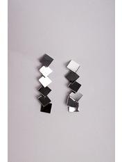 Серьги подвески SER-21101 Серебристый