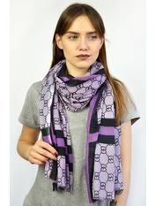 Палантин Нинель 180*95 Фиолетовый Сиреневый