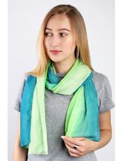 Шарф Меланья 150*50 Зеленый Зеленый