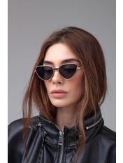 Сонцезахисні окуляри Ві50/114 13,5*4,3 Графитово-золотой Серый