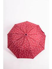 Женский зонт PK-7766 Красный Бордовый