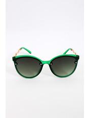 Солнцезащитные детские очки SS1933 Общая ширина 12(см)/ Высота линзы 4.6(см)/ Ширина линзы 4.6(см) Зеленый Зеленый