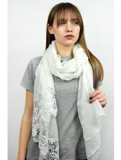 Шарф Есения 180*65 Белый Белый