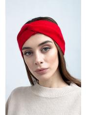 Повязка на голову Виардо one size Красный Красный