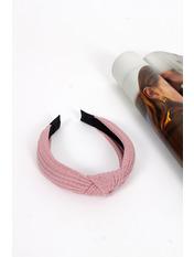 Обруч OBR-21051 Длина 43(см)/ Ширина 4(см) Розовый Пудровый