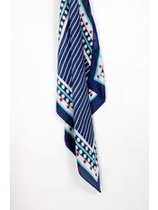 Платок Ранель 65*69 Синий Синий