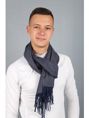 Чоловічий шарф Саймон 180*30 Синій Синій