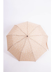 Женский зонт PK-7766 Коричневый Бежевый