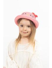 Детская шляпа SHL-4000 Розовый 51 Темно-розовый