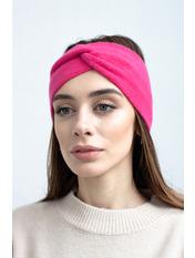 Повязка на голову Виардо one size Розовый Ярко-розовый