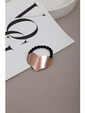 Резинка для волосся REZ-21002 Длина 4(см)/ Диаметр 17(см) Золотистый Бронзовый