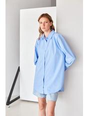 Рубашка RA-0723R M Голубой