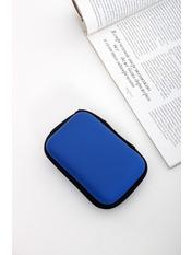 Чехол для наушников Кора one size Синий Синий