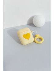 Чехол для наушников Apple Лав one size Желтый Желтый