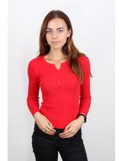 Гольф трикотажный Люси Красный Красный S-M