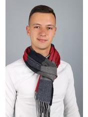 Мужской шарф Родерик 180*30 Красный