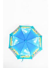 Зонт детский Клипси 100*49*68 Синий Синий+голубой