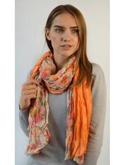 Шарф РС 2253 (8085-3) Оранжевый