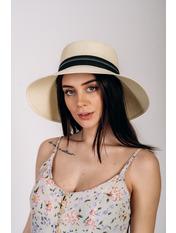 Шляпа слауч Памела Молочный 56 Молочный