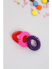 Набор резинок Руби Разноцветный 3 Ширина 1(см)/ Диаметр 3.5(см) Разноцветный