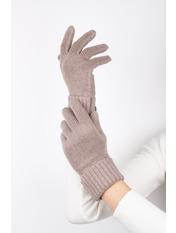Женские перчатки Герда one size Капучино Капучиновый