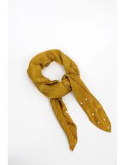 Платок Фиби 56*56 Желтый Темно-желтый
