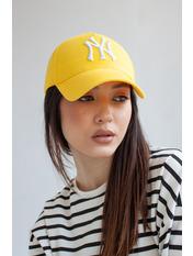 Бейсболка NewYork Желтый 57-58 Желто-белый