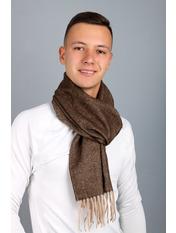Чоловічий шарф Саймон 180*30 Коричневий Коричневий