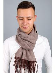 Чоловічий шарф Саймон 180*30 Бордовий Марсаловий