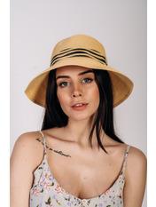 Шляпа слауч Бекка Бежевый Песочный 56