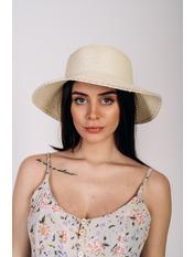 Шляпа слауч Робин Молочный 58 Молочный