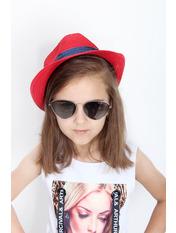 Шляпа детская Барбадос Красный Красный 50