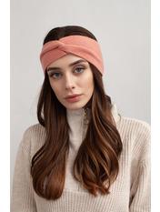 Повязка на голову Амелия one size Розовый Темно-пудровый