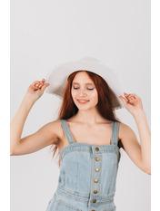 Шляпа широкополая Лорри Белый Белый 54-56