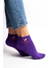 Носочки Линси 36-40 Фиолетовый Фиолетовый