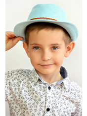 Шляпа детская Муреа Голубой Светло-голубой 52