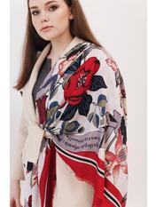 Платок Лорет Красный