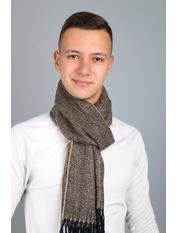 Чоловічий шарф Саймон 180*30 Сірий Графітовий