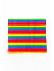 Банданы оригинальные Радужный Разноцветный 55*55
