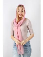 Шарф Стелла 160*60 Розовый Пудровый